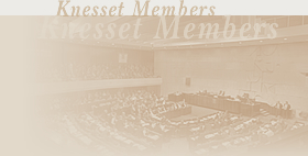 Background picture of the Knesset
